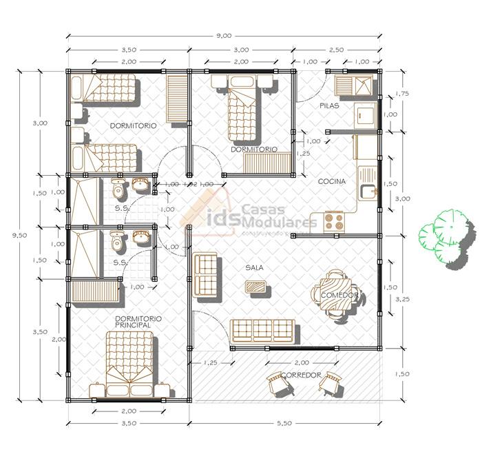 Casa Tipo: BC 113