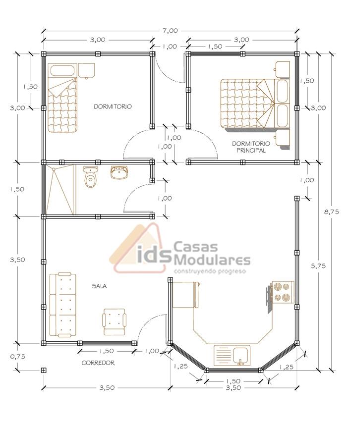 Casa Tipo: BC 117